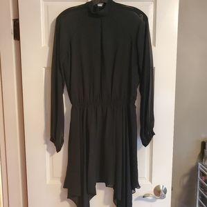 BCBGeneration Long Sleeve Black Dress